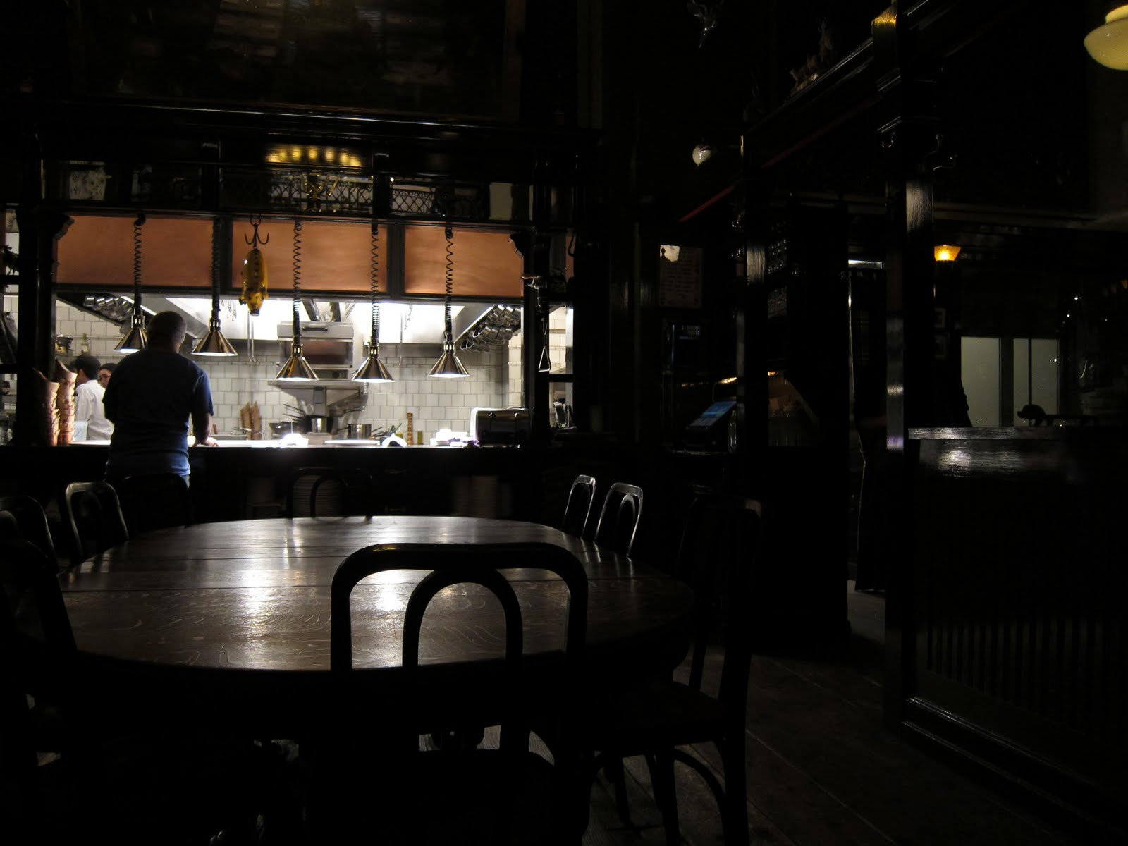 Midwestern Masticatory Musings The Breslin New York Ny 100 Bar And Dining Room