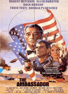 Cartel, carátula, cover, dvd: Embajador en Oriente Medio / Próximo | 1984 | The Ambassador