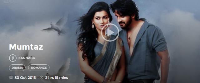 Mumtaz (2015) Full Kannada Movie Watch Online 720P HD