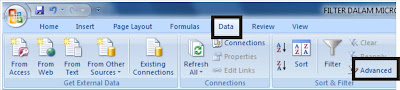 Advanced Filter dalam Microsoft Excel