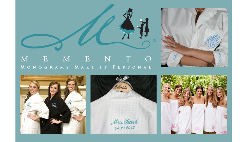 Memento ~ Monograms Make it Personal