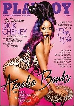 Azealia Banks Playboy USA Abril 2015