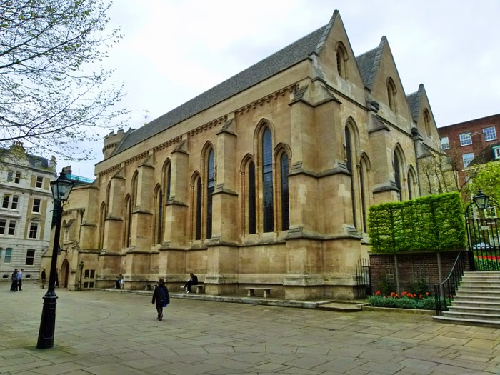 Temple Church, where Magna Carta was drafted, London