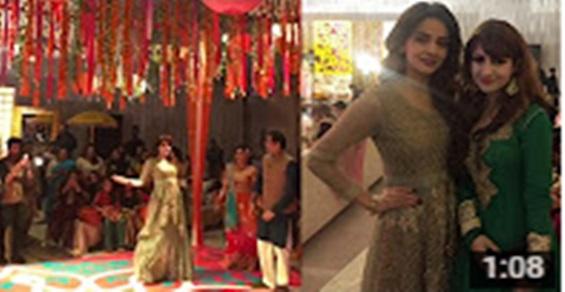Saba Qamar Dancing In A Friends Wedding