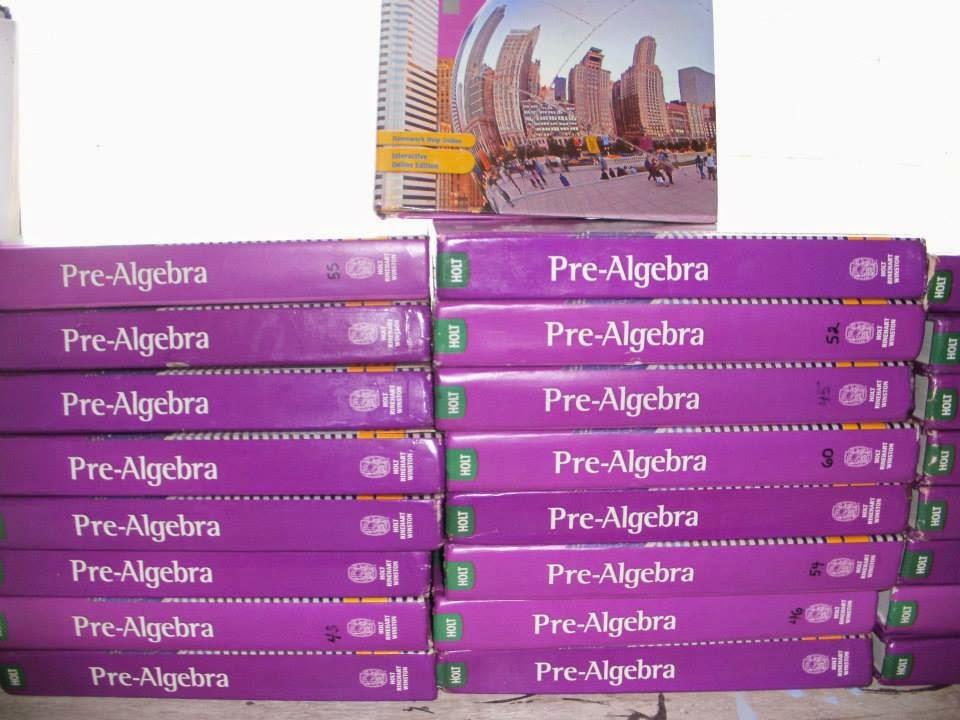 Pre-Algebra Books