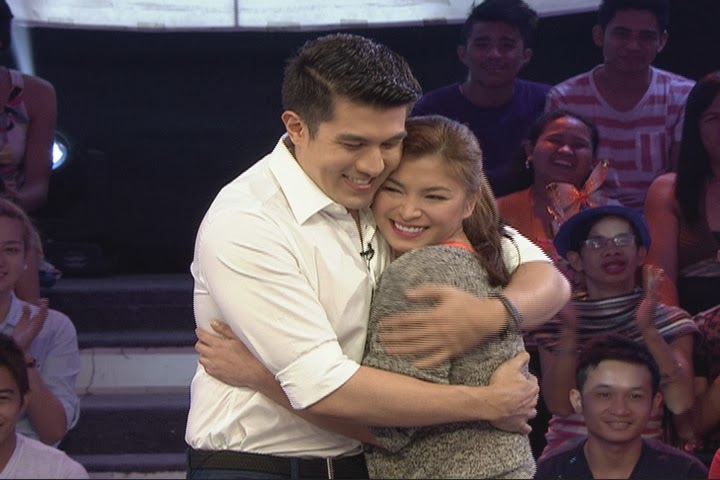 Luis Manzano and Angel Locsin on Minute To Win It