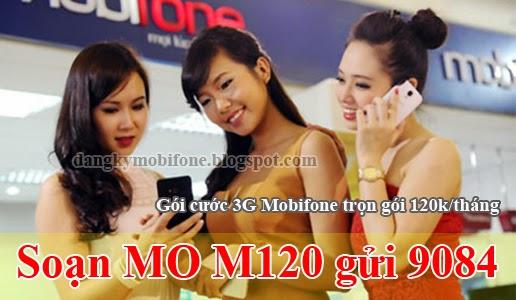 Hướng dẫn đăng ký 3G Mobifone trọn gói 120k/tháng