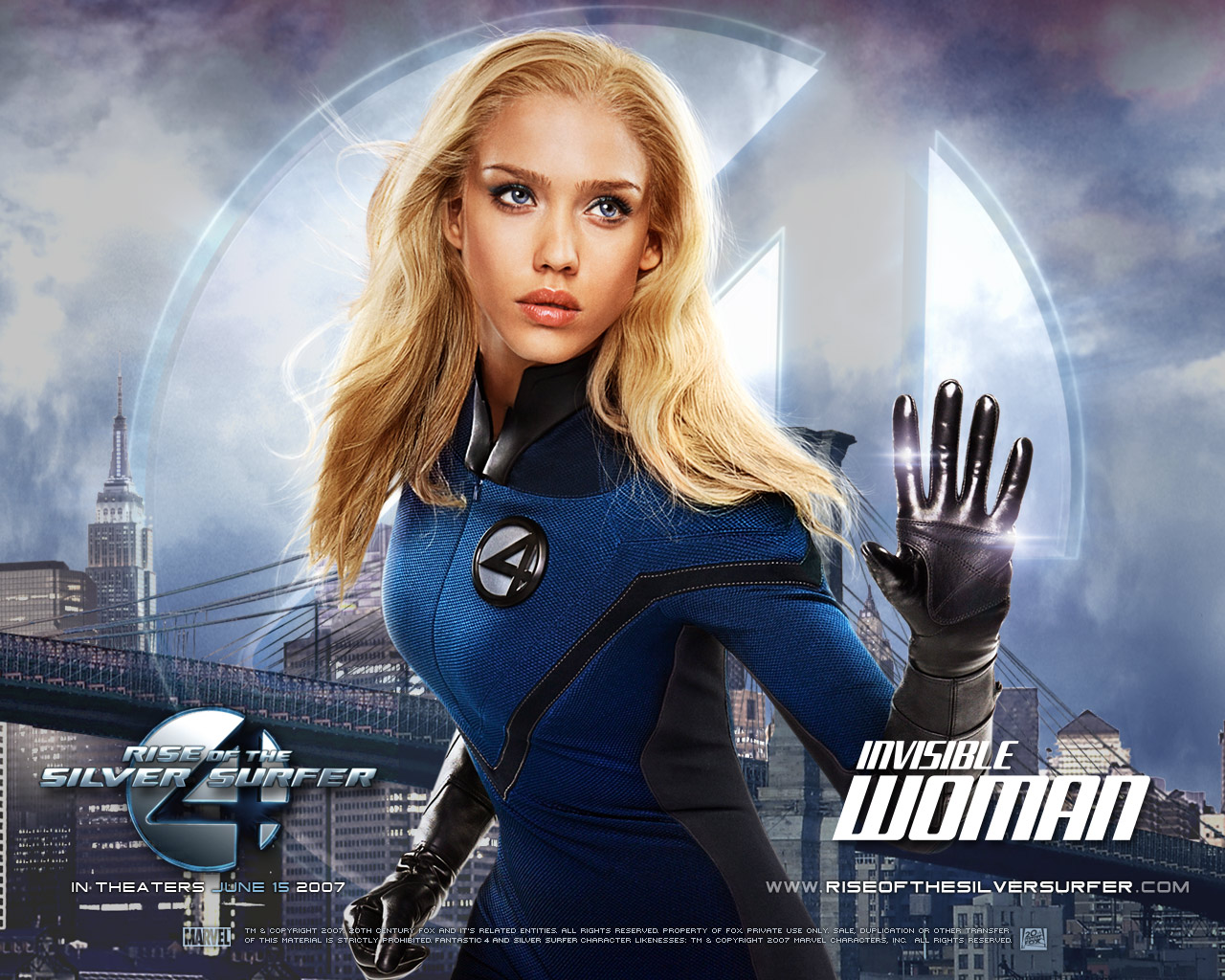 Fantastic 4 HD & Widescreen Wallpaper 0.744759474691165