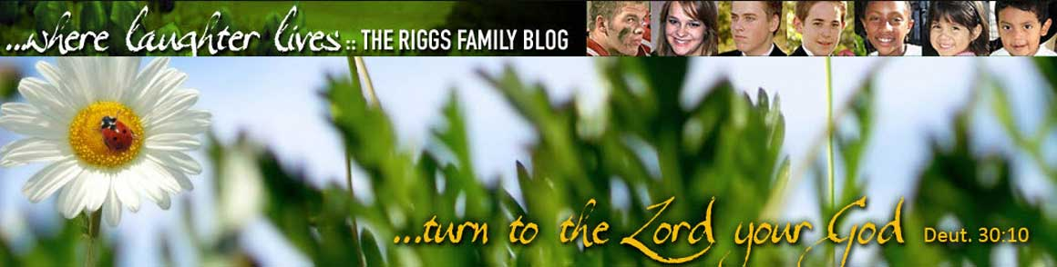 ...where laughter lives: The Riggs Family