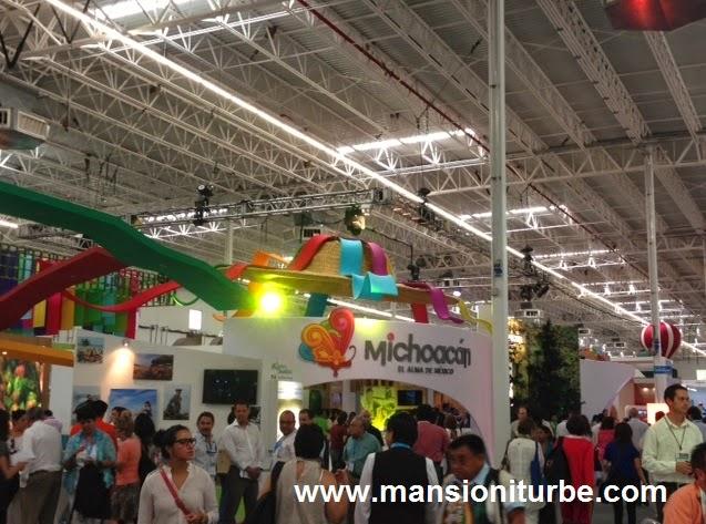 Stand de Michoacán en el Tianguis Turístico de México 2014