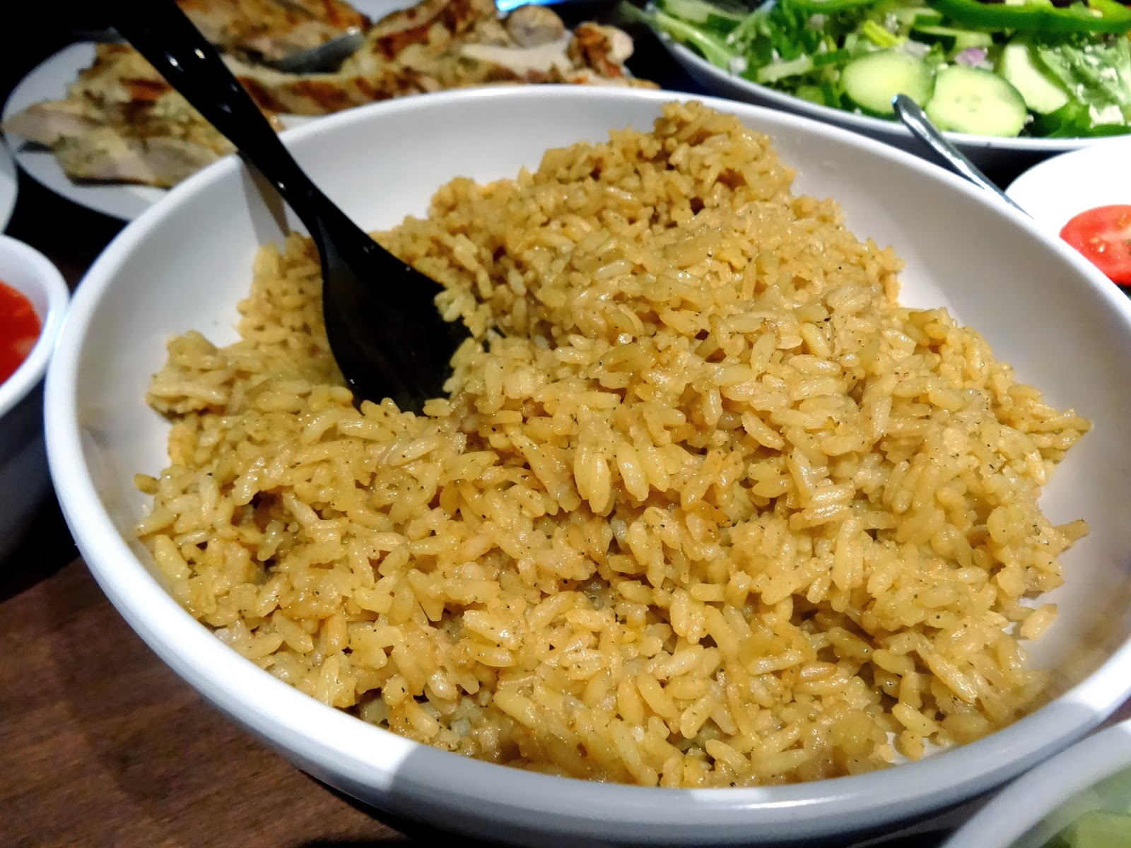 pilaf the pilaf with a fork rice pilaf rice pilaf the lid from the ...