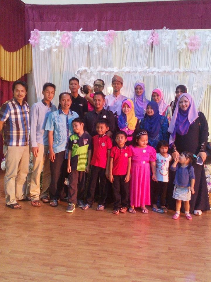 majlis kahwin anak saudara di Penang