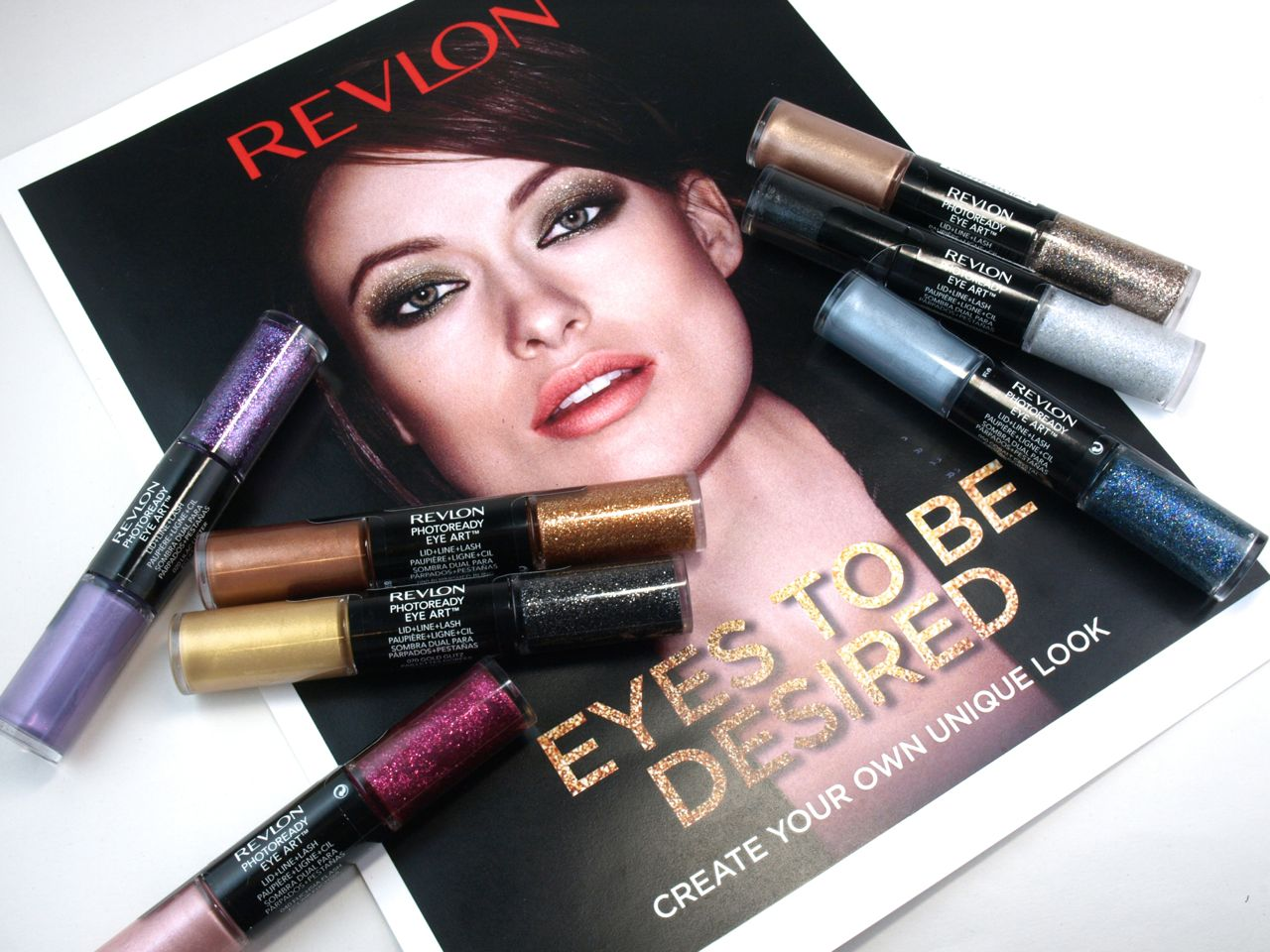 Revlon Photoready Eye Art Lid + Line + Lash: Review and Swatches