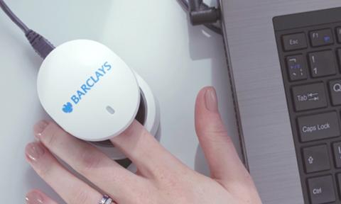 Lecteur biométrique Barclays