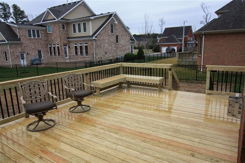 Wooden Deck Designs