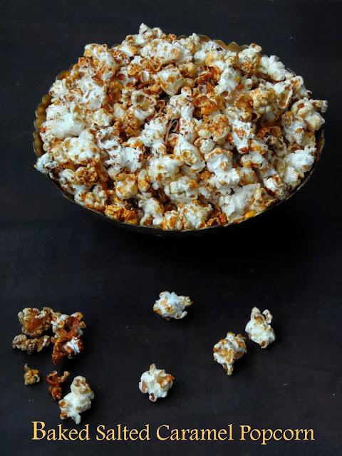 Baked Sweetened Popcorn