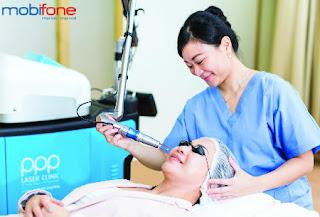 Mobifone ưu đãi làm đẹp tại PPP Laser Clinic cho phái nữ