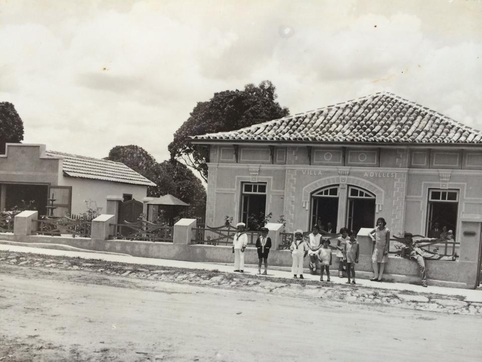 Casarão da Familia Navarro a Rua da Boa Morte em Barbacena
