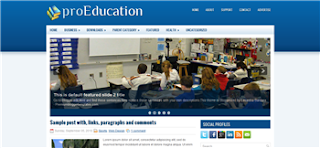 proEducation Blogger Template
