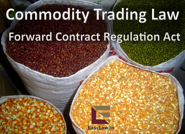 Commodities future trading in india