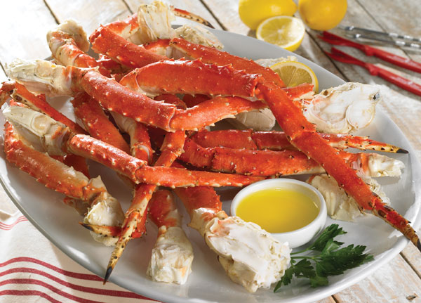 King Crab Cooked King Crab Meat Has a Sweet