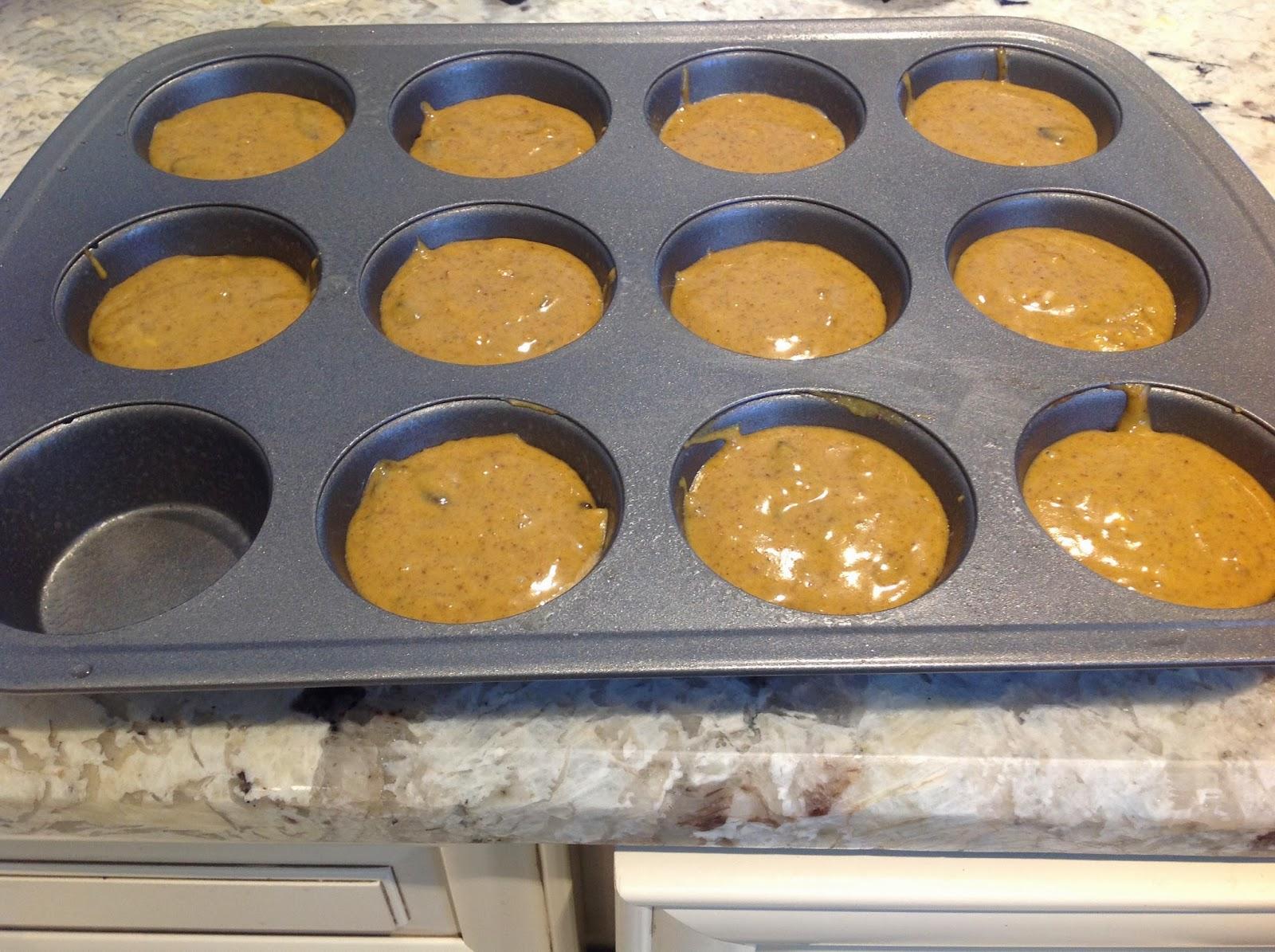 Gluten Free A-Z Blog: Pumpkin Cupcakes ( flourless)
