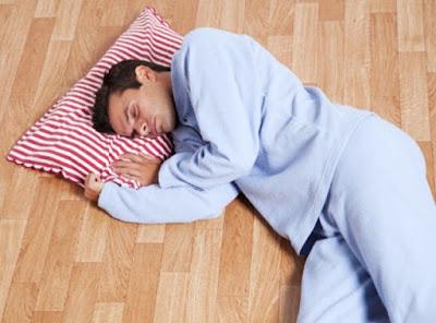 Tidur Atas Lantai