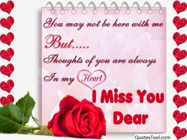 i miss you dear