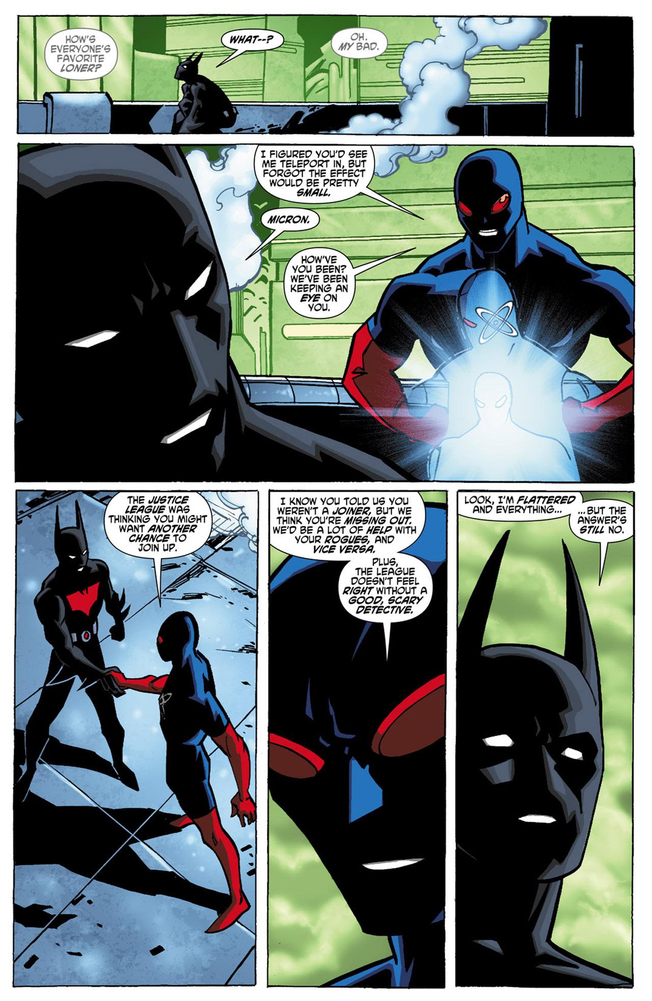 Batman Beyond (2010) Issue #1 #1 - English 11