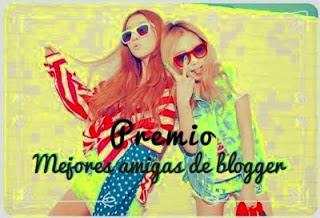 Premio mejor amiga blogger