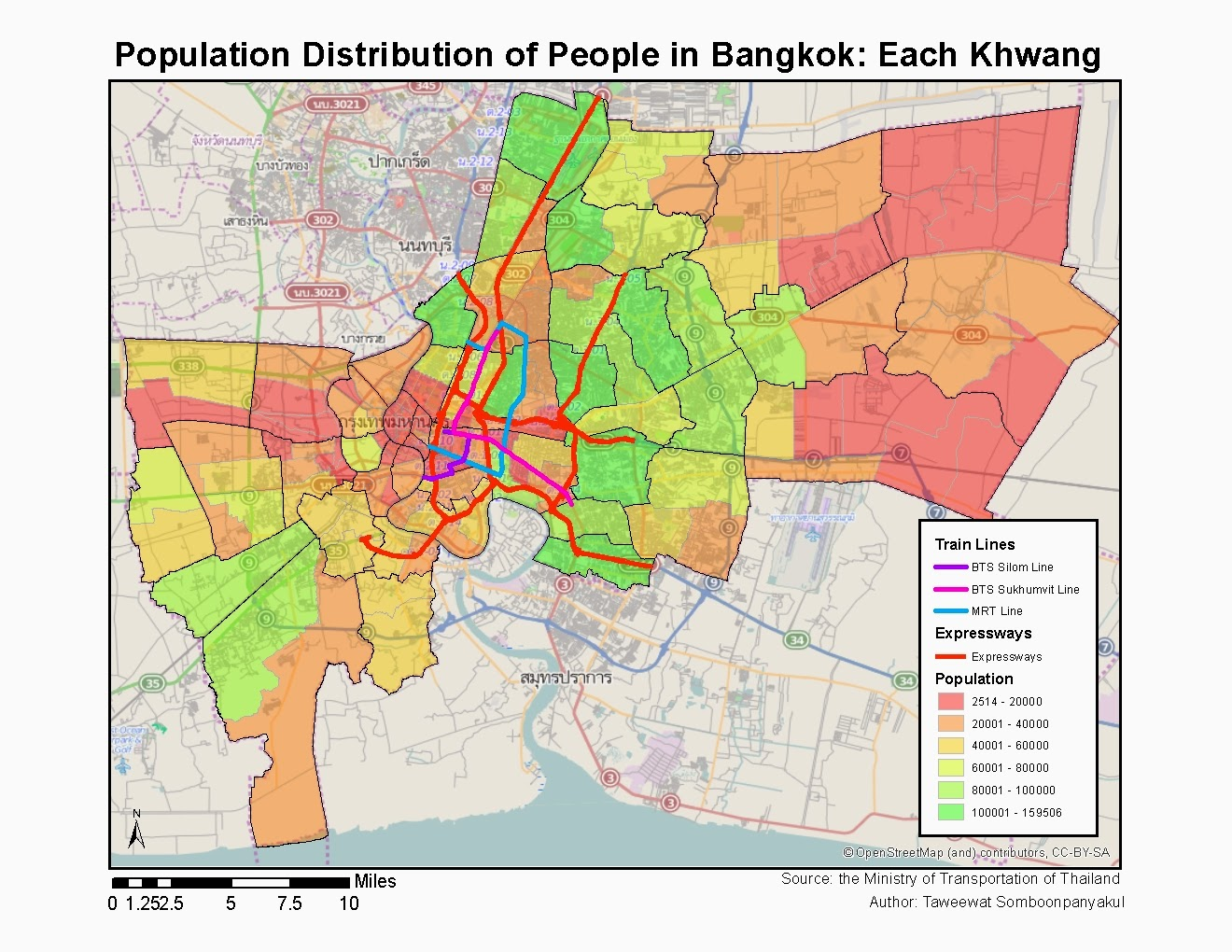 LeogulusChamps Taweewat Somboonpanyakul Blog Where Do People - Where is bangkok