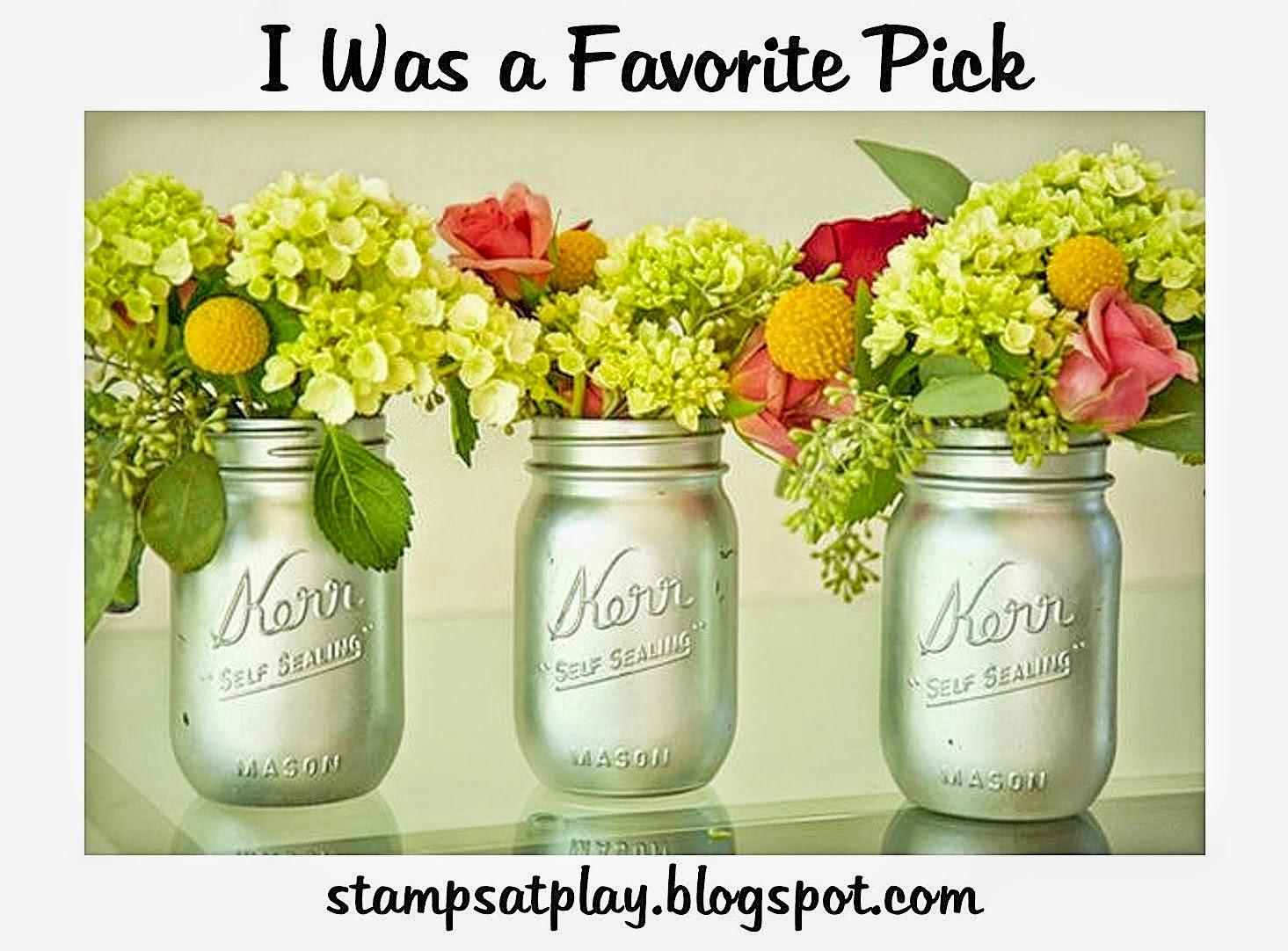 I was a Favorite Pick!!