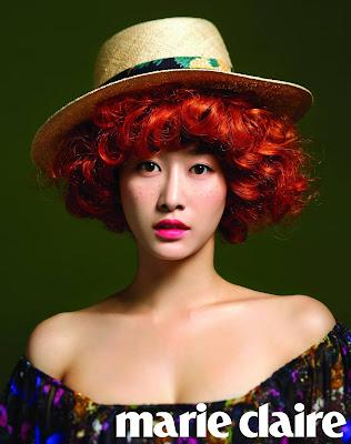 Jeon Hye Bin - Marie Claire Magazine July Issue 2013