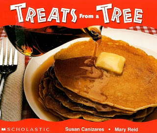 http://www.amazon.com/Treats-Tree-Science-Emergent-Readers/dp/0590161377/ref=sr_1_1?ie=UTF8&qid=1443649678&sr=8-1&keywords=treats+from+a+tree