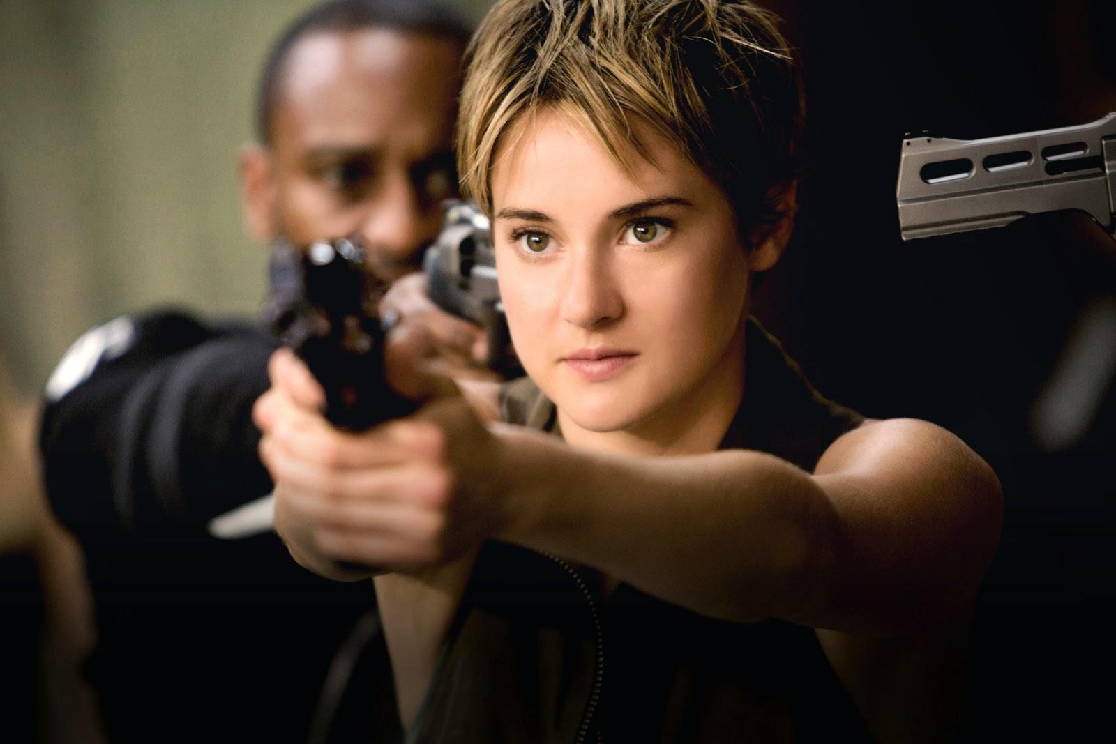 Tris (Shailene Woodley) dans Divergente 2, Insurrection  (Insurgent)