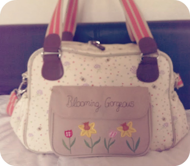 Pink Lining Blooming Gorgeous Change Bag