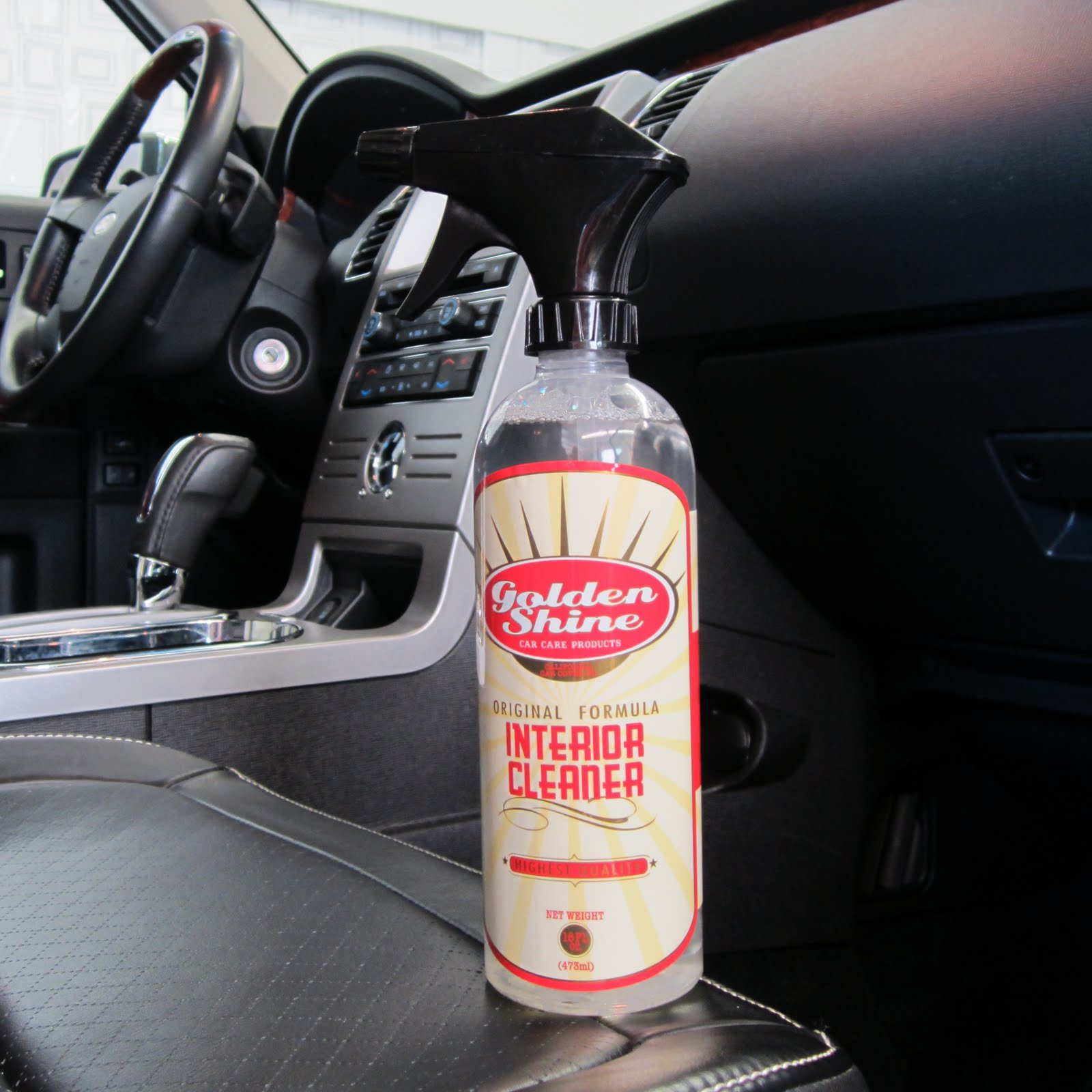 Covering Classic Cars Golden Shine Interior Cleaner