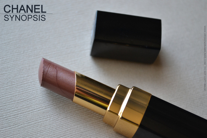Rouge Coco Shine Lipstick Synopsis 82 - Avant Premiere de Chanel Makeup Collection - Photos Swatch Review FOTD