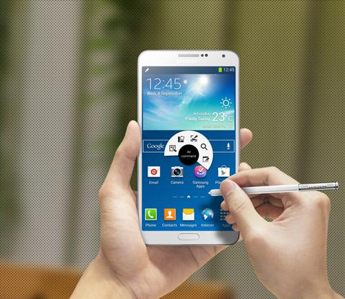 Samsung Galaxy Note 3 Blanc smartphone