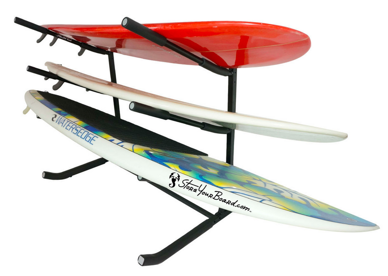 freestanding paddleboard rack