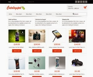 Revo Catalogspot eCommerce Blogger Template | Mark Themes