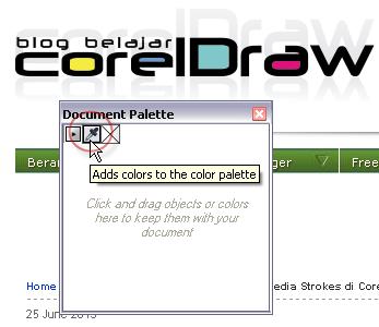 Cara Menambah Koleksi Warna dari Sumber Lain di CorelDRAW