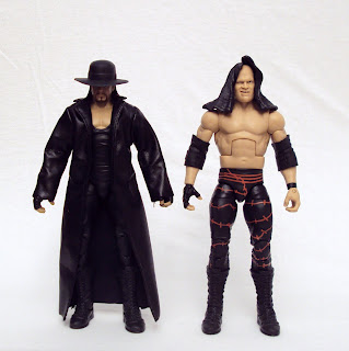 Undertaker And Kane In Real Life 3B's Toy Hi...