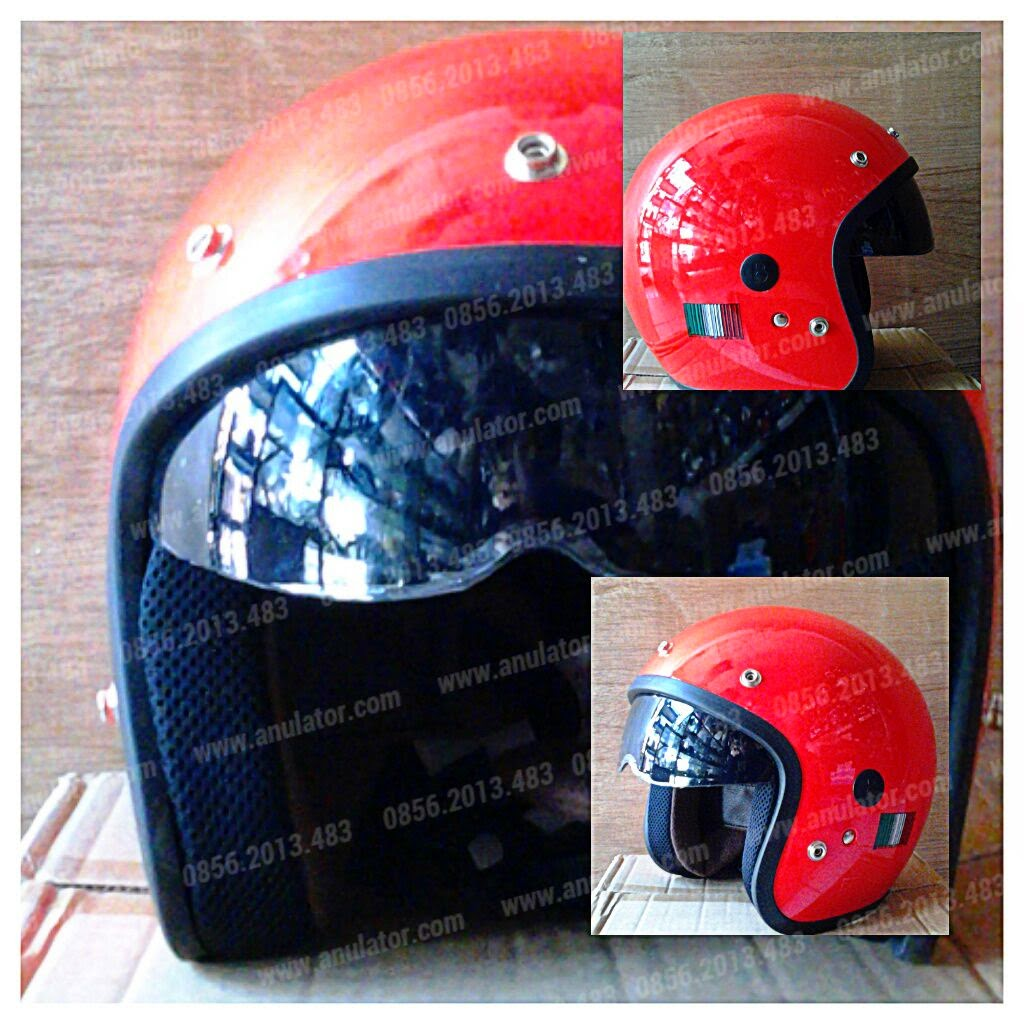 Barcode Red Helmet Double