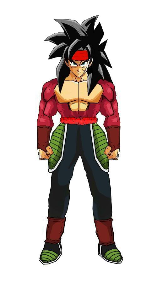 DRAGON BALL Z WALLPAPERS: Bardock super saiyan 4