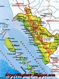 Gambar Peta Padang Sumatera Barat