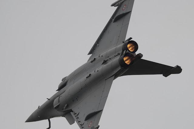 Dassault Rafale afterburner