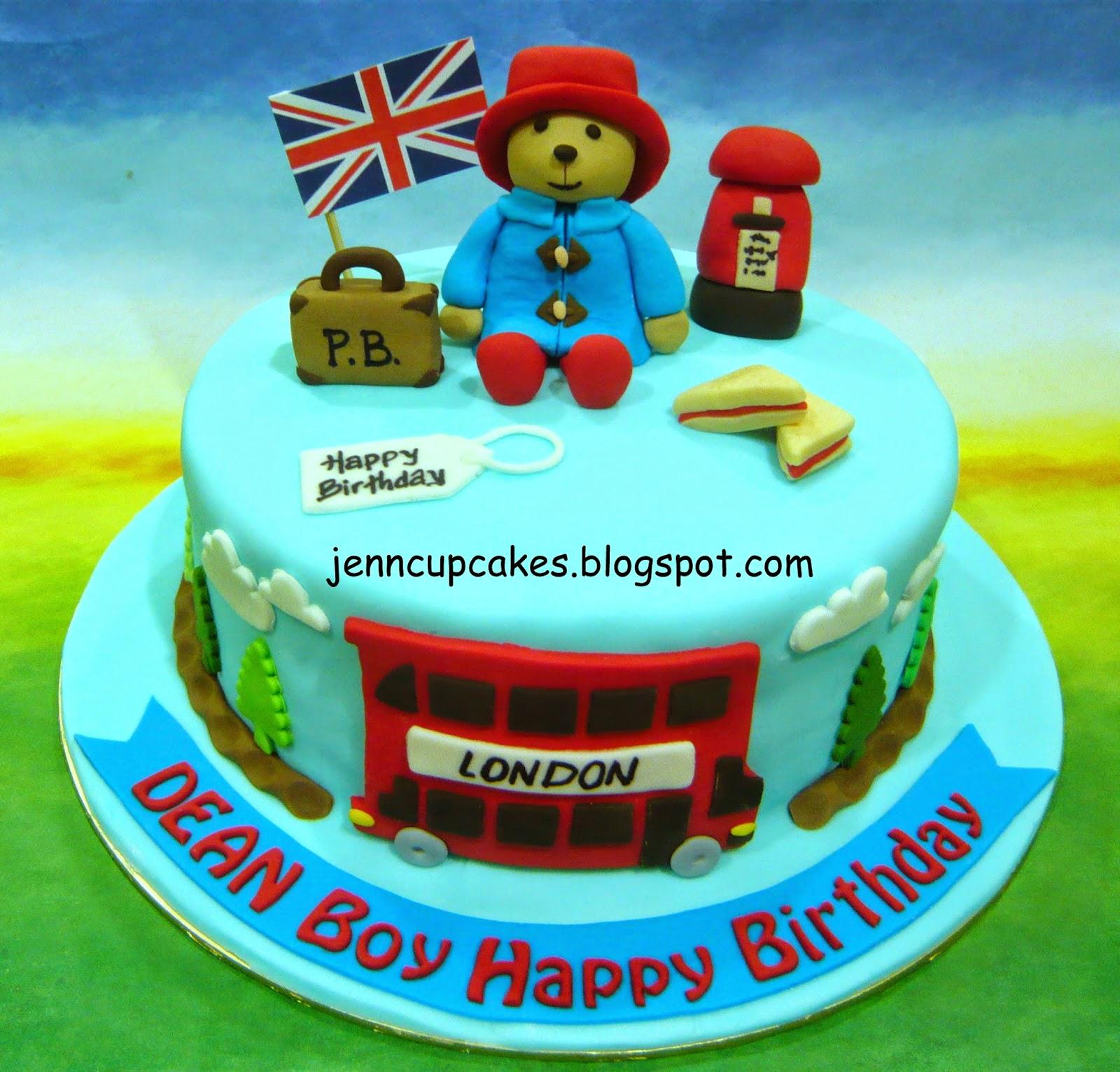 Jenn cupcakes amp muffins paddington bear cake