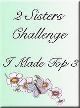 I made the Top 3 at 2Sisters&#39; Challenge