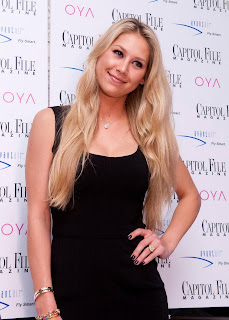 Anna Kournikova Biography hairstyles photo gallery